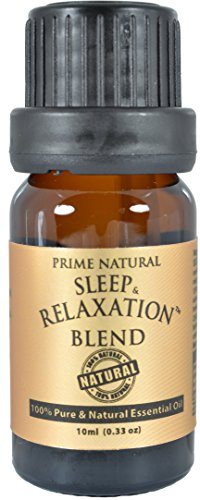 Good Scent (SLEEP & RELAXATION Essential Oil Blend 10ml - 100% Natural Pure Undiluted Therapeutic Grade for Aromatherapy Scents & Diffuser - Good Natural Sleep Aid , Depression Stress Anxiety Relief)