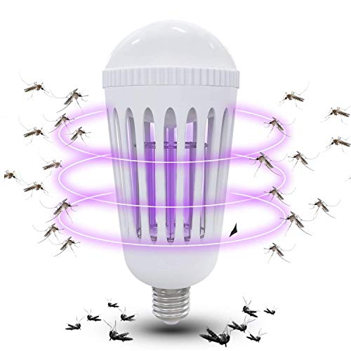 Killer Lamp (Gogogu Bug Zapper Light Bulbs, Mosquito Killer Lamp, UV LED Electronic Insect & Fly Killer for Indoor and Outdoor)