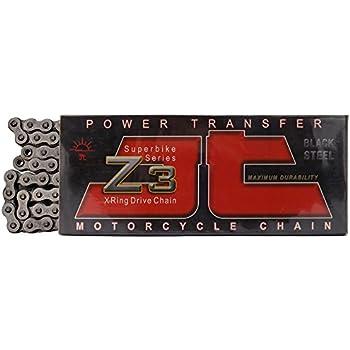 530Z3 JT Sprockets 106 Link JTC530Z3106RL Steel 106-Link Super Heavy Duty X-Ring Drive Chain