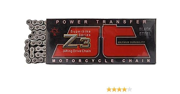 JT Sprockets 112 Link JTC525Z3112RL Steel 112-Link Super Heavy Duty X-Ring Drive Chain 525Z3