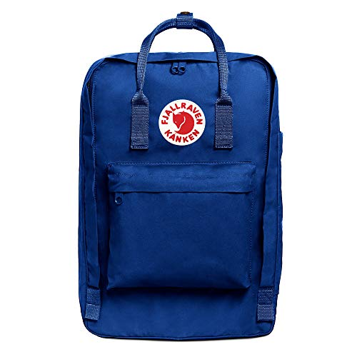 """Fjallraven - Kanken Laptop 17"""" Backpack for Everyday, Deep Blue"""