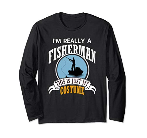 Fisherman Halloween Costume T-Shirt This Is My Costume