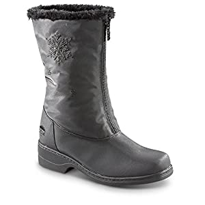 Women's Totes Staride Winter Boots, Black, 8B