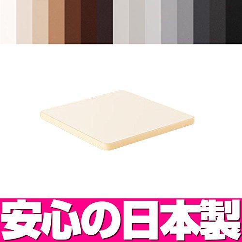【 テーブル 天板 日本製】 テーブル天板 メラミン化粧板(ソフトエッジ巻き) W500×D500 ブラック K6200KN B00O1OSNUU ブラック|K6200KN K6200KN ブラック
