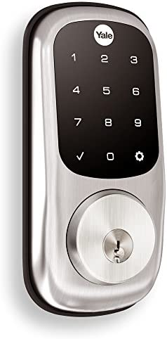 Yale Assure Lock with Z-Wave - Smart Touchscreen Deadbolt - Works with Ring Alarm, Samsung SmartIssues, Wink and More (Hub required, offered one after the other) - Satin Nickel