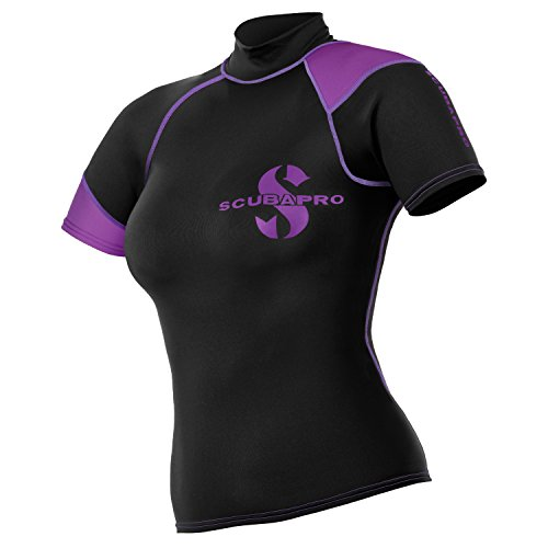 ScubaPro Women's Short Sleeve Rash Gaurd (X-Large)