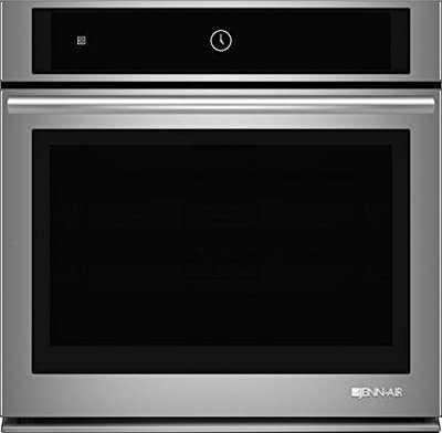 "Jenn-Air 30"" Single Electric Wall Oven with Multimode Convection System, 5.0 Cu Ft in Stainless Steel JJW2430DS"