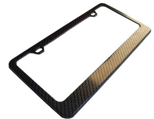 Honda Civic EF EG EK9 EM1 Real Carbon Fiber License Plate Frame 3M 3K Twill 96-11-12-13