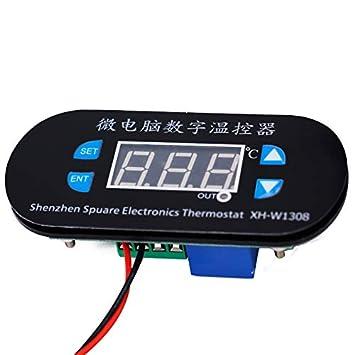 CUHAWUDBA W1308 AC 220V Controlador Digital de Temperatura Del ...