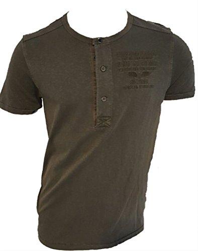 Pme legend solide braunen t-shirt