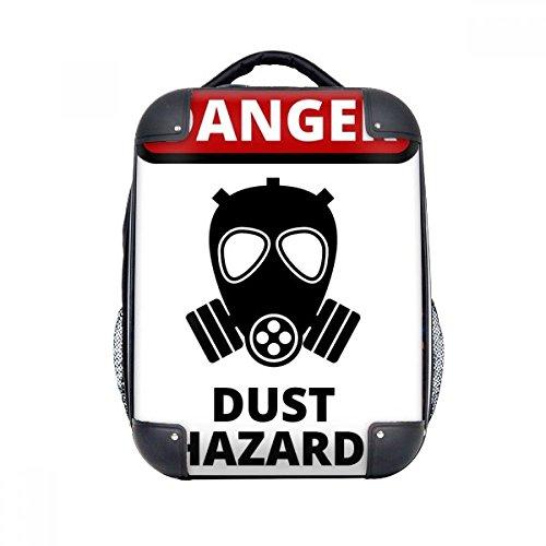 Danger Hard Case (Danger Symbol Dust Hazard Warning Signs Hard Case Shoulder Carrying Children Backpack Gift 15
