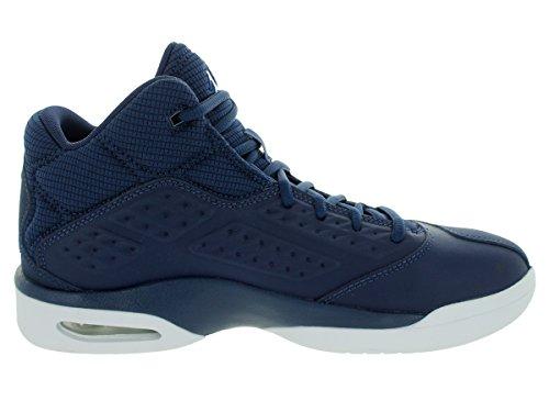 Nike Jordan Hommes Nouvelle École Midnight Marine / Soar-blanc