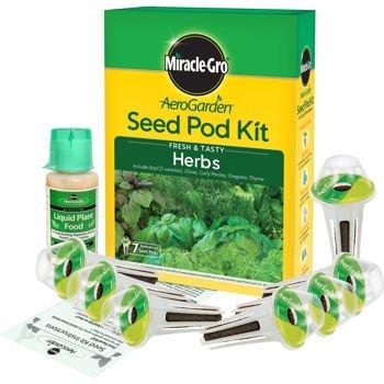Miracle-Gro AeroGarden Fresh & Tasty Herb Seed Pod Kit