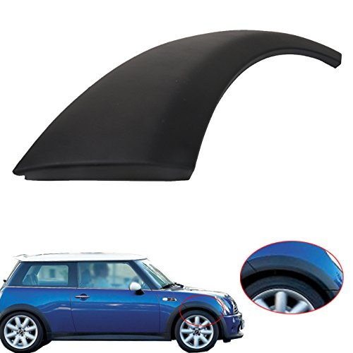 (Wheel Arch Trim For Mini Cooper 51131505866, BOXATDOOR Front Wheel Housing Trim on Hood Right Passenger Side for MINI One/One D/Cooper/Cooper S R50 R52)