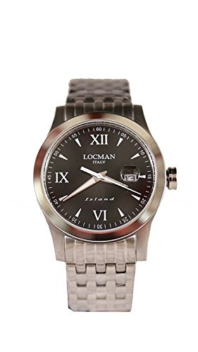 LOCMAN watch ISLAND 0614A01-00BKWHB0 Men's