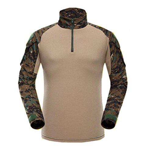 Woodland Camo Bdu Shirt - 9