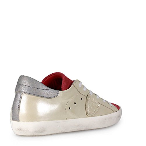 SNEAKER PARIS CLASSIC BIANCO/ROSA PHILIPPE MODEL