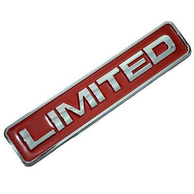 Red Chrome Limited Engine Race Motor Swap Emblem Badge For Door Hood Trunk for Toyota - Toyota Hood Mr2