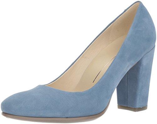 Blue Ecco Shape Fermé 75 Block Bleu Escarpins Bout 2471retro Femme qOWpqCc4