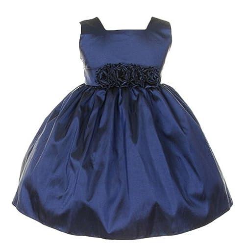 Navy Blue Toddler Dress: Amazon.com