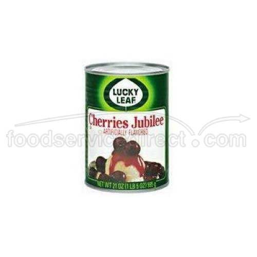 Knouse Foods Lucky Leaf Cherry Jubilee Filling, 21 Ounce - 8 per case.
