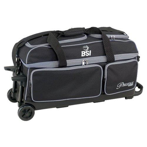 BSI Prestige Prestige B009IWM1I0 3ボールローラーBowling bag-ブラック/グレー B009IWM1I0, 鳥取市:28455faa --- gamenavi.club