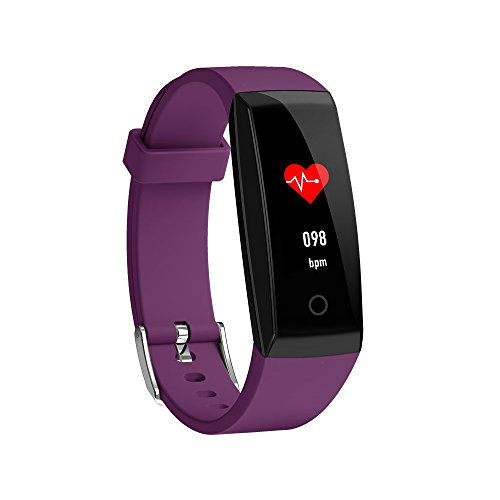 Waterproof Activity Tracker,Businda Smart Wristband with Heart Rate and Female Physiological Reminder Fitness Tracker for Android & IOS Smartphone by Businda