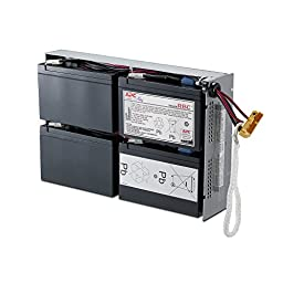 APC RBC24 UPS Replacement Battery Cartridge for SUA1500RM2U, SMT1500R2-NMC and select others