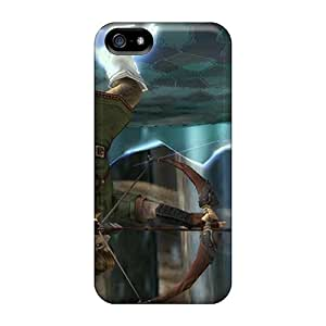 Shockproof Hard Cell-phone Case For Apple Iphone 5/5s With Support Your Personal Customized Stylish The Legend Of Zelda Image DeanHubley