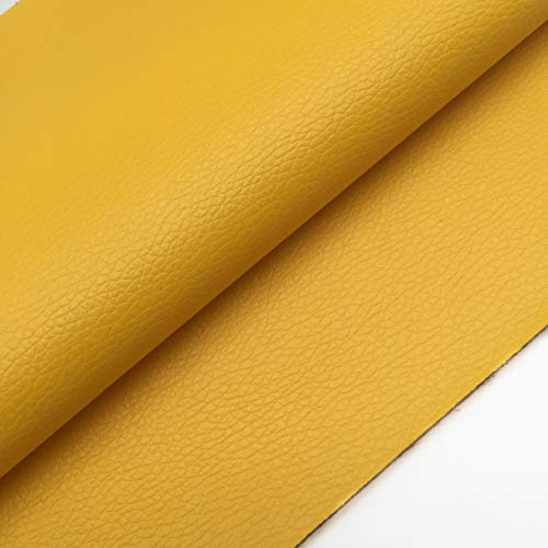 mustard yellow upholstery fabric - 5