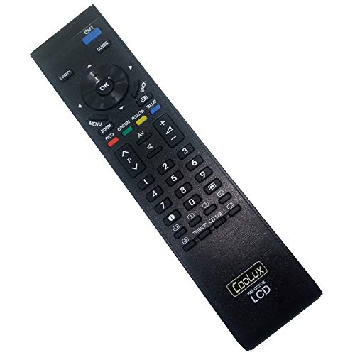 Universal Replacement Remote Control for JVC LCD TV HD-52G566 LT-32DZ1 LT-42DG1 LT-42E478 LT-42E488 LT-47DG1 Replace (RM-C2503)