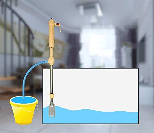 AOKASIX Flexible Sifon Acuario, Acuario Filtro Aspirador Limpiar Fondo para Acuario Limpieza Pecera Limpia de Fondo Cambia el Agua(AC y DC): Amazon.es: ...