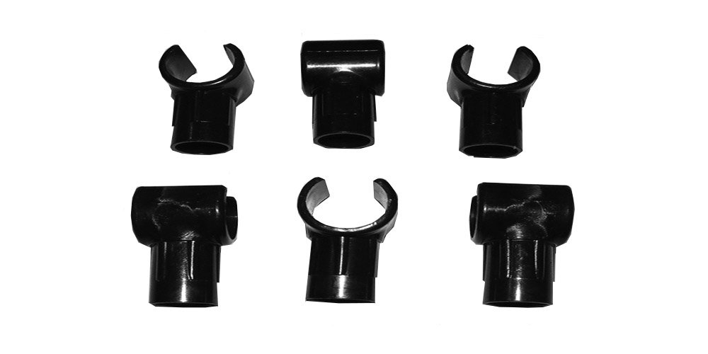 4 x 11mm 16mm Camping Caravan Awning Tent Flysheet C Clip Clasp Connector