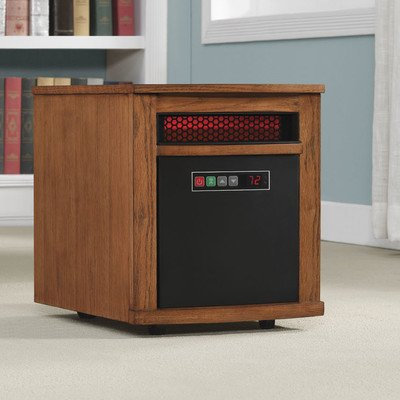 1,500 Watt Portable Electric Infrared Cabinet Heater Review