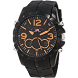 U.S. Polo Assn. Sport Men's US9238 Sport Watch with Black Rubber Band