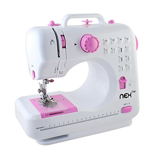 NEX Sewing Machine Children Present Portable Craft (Large Image)