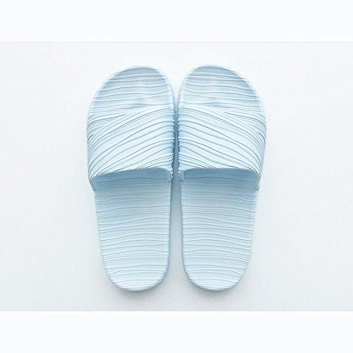 macho grisAzul zapatillas casa Zapatillas parejas DogHaccd baño zapatillas verano antideslizantes cool indoor baño cielo Home cielo1 Azul verano Azul AvqwOZ