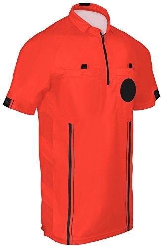 Referee Soccer Jerseys (Red, A L) - Soccer Referee Apparel