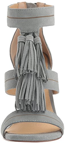 Easy Speak Sandal Black Chambray Chinese Women's Suede Laundry Dress tSax77qOw