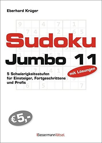 Sudokujumbo 11: 5 Schwierigkeitsstufen - für Einsteiger, Fortgeschrittene und Profis
