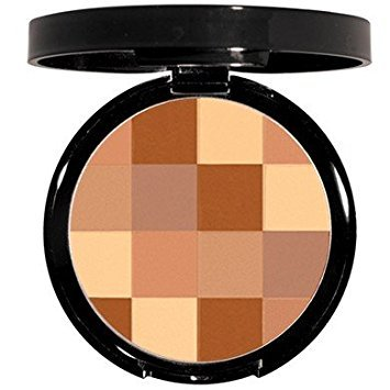 Mosaic Finishing Bronzing Face Powder - Hypoallergenic - Create a Bronze Glow That Enhances Any Skin Tone .37 oz (Bonfire Beach) (Skin Bronzing Powder)