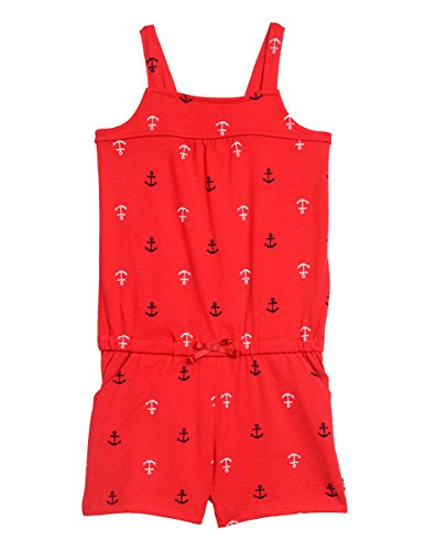 Nautica Baby Girls' Romper with Anchor