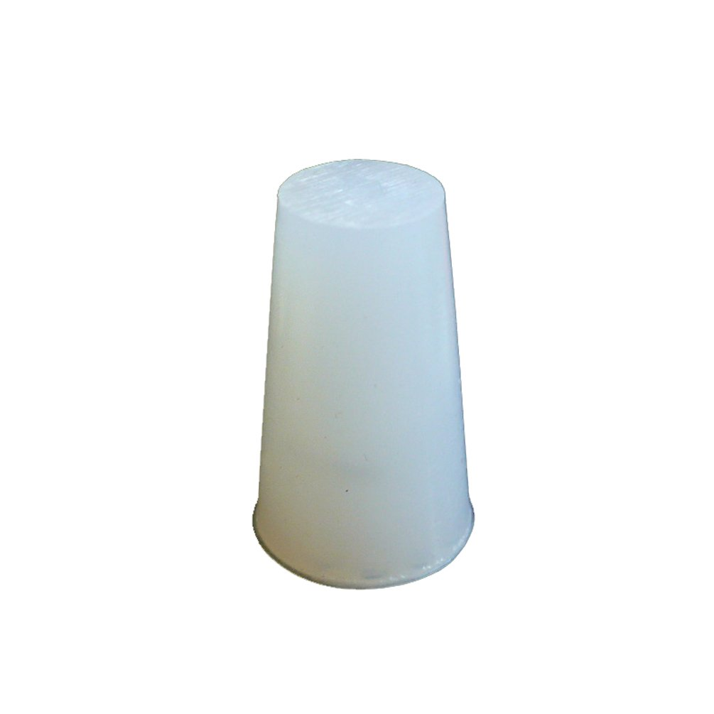 Pack of 5 PUL84010 Size #6 PUL FACTORY Solid Silicone Stopper