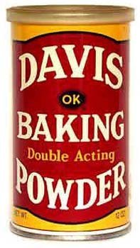 Davis Double Acting Baking Powder