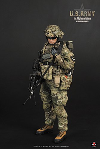 M249 Saw (Soldier Story U.S. Army In Afghanistan M249 Saw Gunner 1/6 SS068)