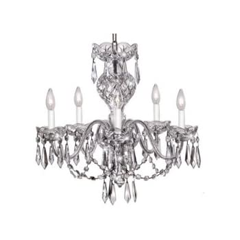 Waterford crystal cranmore chandelier 9 arm amazon waterford crystal comeragh chandelier 5 arm aloadofball Gallery