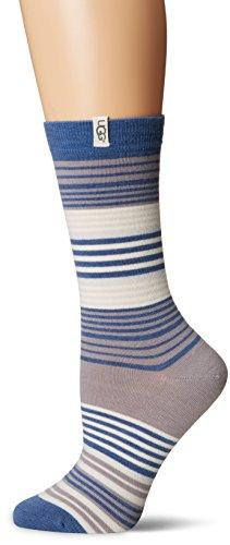 UGG Women's Merino Wool Jacquard Crew Sock, Nocturnal Multi, O/S