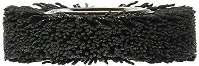 "Osborn 22253SP Abrasive Wheel Brush, 3"" Diameter, 5/8"" Arbor Hole, Silicon Carbide Fill Material, Round Crimped Filament Shape, 0.040"" Filament Diameter, 7/8"" Face Width, 5/8"" Trim Length, 20000 Maximum RPM, 120 Grit Size"