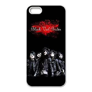 IPhone 5,5S Phone Case for Black Veil Brides pattern design
