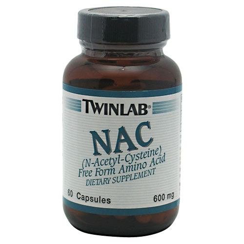 NAC N-ACETYLCYSTIEN 600MG pack of 25 by Twinlab